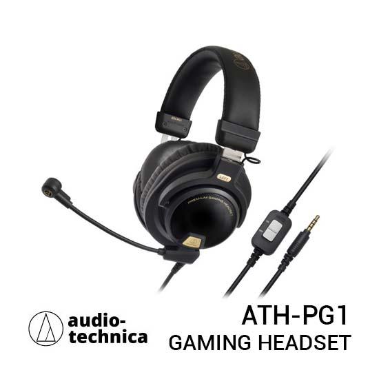 Jual Audio-Technica ATH-PG1 Premium Gaming Headset Harga Terbaik dan Spesifikasi