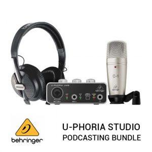 Jual Behringer U-Phoria Studio RecordingPodcasting Bundle Harga Terbaik dan Spesifikasi