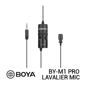 Jual Boya BY-M1 Pro Universal Lavalier Microphone Harga Terbaik dan Spesifikasi