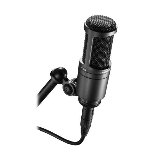 Jual Audio-Technica AT2020 Condenser Microphone Harga Terbaik dan Spesifikasi