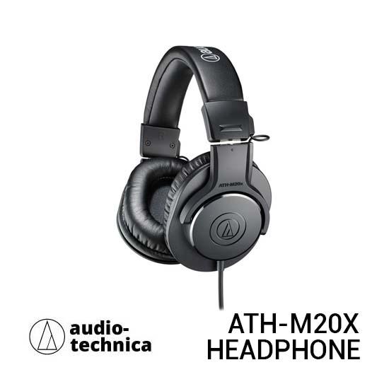 Jual Audio-Technica ATH-M20x Monitor Headphone Harga Terbaik dan Spesifikasi