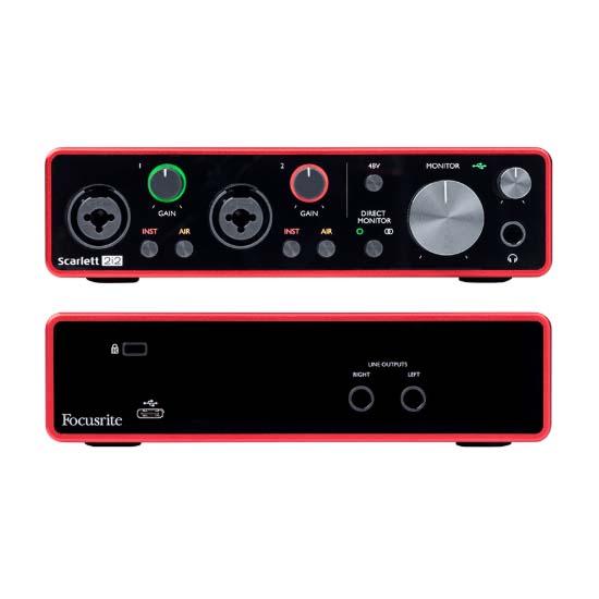 Jual Focusrite Scarlett 2i2 2x2 USB Audio Interface Harga Terbaik dan Spesifikasi