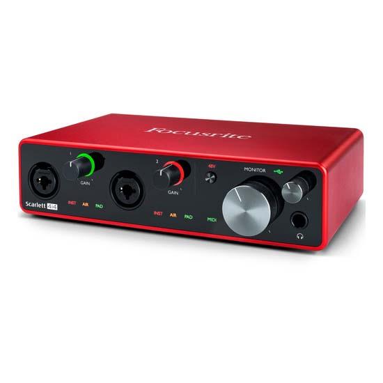 Jual Focusrite Scarlett 4i4 4x4 USB Audio Interface Harga Terbaik
