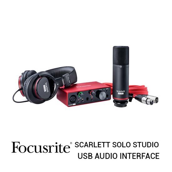 Jual Focusrite Scarlett Solo Studio Harga Terbaik dan Spesifikasi