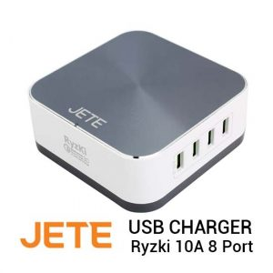 Jual Jete USB Charger Ryzki 10A 8 Port Harga Murah dan Spesifikasi
