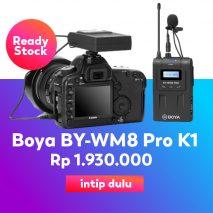Boya-BY-WM8-Pro-K1-UHF-Wireless-Microphone