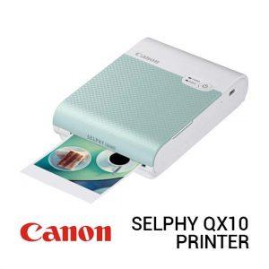 Jual Canon Selphy QX10 Green Harga Terbaik dan Spesifikasi