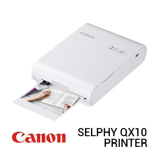 Jual Canon Selphy QX10 White Harga Terbaik dan Spesifikasi