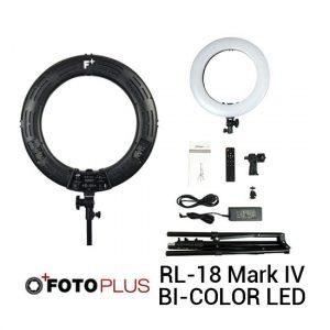 Jual Fotoplus Ring Light RL-18 Mark IV Bi-Color LED Harga Murah Terbaik dan Spesifikasi