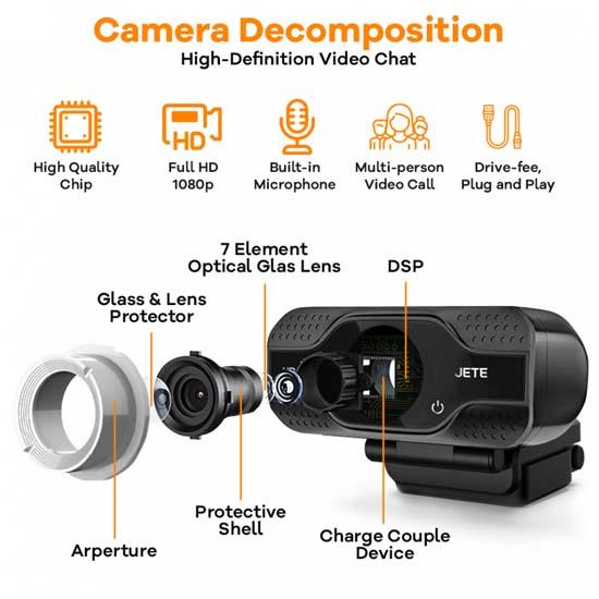 Jual Jete W6 Webcam Harga Murah Terbaik dan Spesifikasi