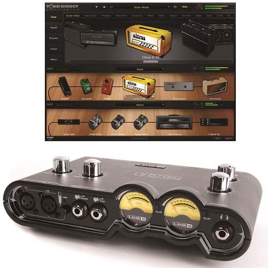 Jual Line6 POD Studio UX2 Soundcard Harga Terbaik dan Spesifikasi