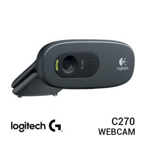 Jual Logitech C270 HD Webcam Harga Murah dan Spesifikasi