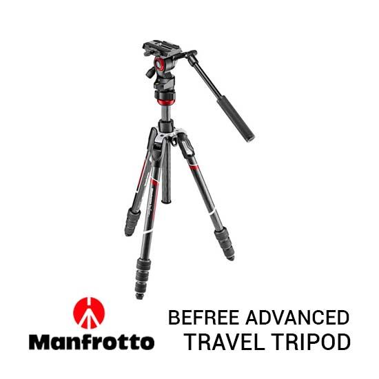 Jual Manfrotto Befree Advanced Live Carbon Black Harga Terbaik dan Spesifikasi