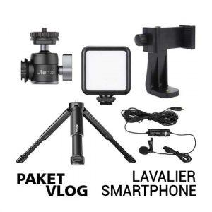Jual Paket Vlog Lavalier Smartphone Harga Murah dan Spesifikasi