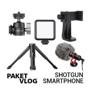 Jual Paket Vlog Shotgun Smartphone Harga Murah dan Spesifikasi