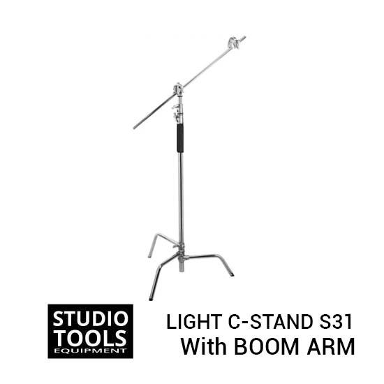 Jual Professional Light C-Stand with 49 Inch Boom Arm S31 Harga Terbaik dan Spesifikasi