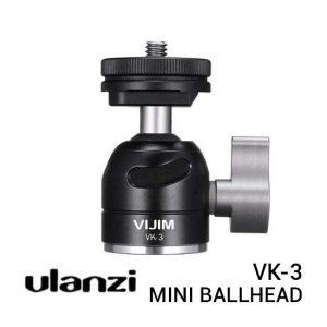 Jual Ulanzi VIJIM VK-3 Mini Ballhead Harga Murah Terbaik dan Spesifikasi