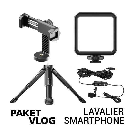 Paket Vlog Lavalier Smartphone terbaru harga murah