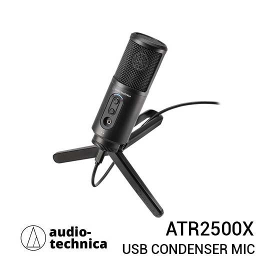 Jual Audio-Technica ATR2500x USB Condenser Microphone Harga Terbaik dan Spesifikasi
