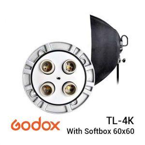 Jual Godox TL-4K Multi Lamp Holder with Softbox 60x60 Harga Murah dan Spesifikasi