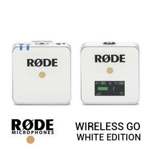 Jual RODE Wireless GO White Edition Harga Terbaik dan Spesifikasi