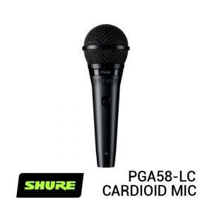 Jual Shure PGA58-LC Cardioid Dynamic Vocal Microphone Harga Murah dan Spesifikasi