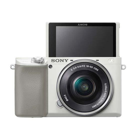 Jual Sony A6100 Kit 16-50mm White Harga Terbaik dan Spesifikasi