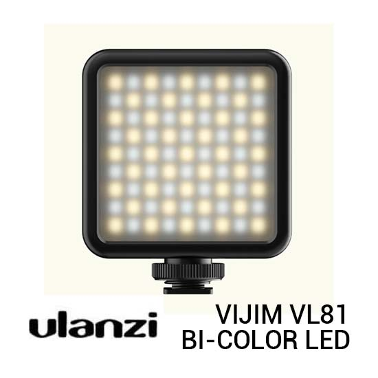 Jual Ulanzi VIJIM VL81 Bi-Color LED Video Light Harga Murah dan Spesifikasi