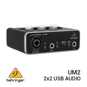 Jual Behringer UM2 2x2 USB Audio Interface Harga Murah dan Spesifikasi