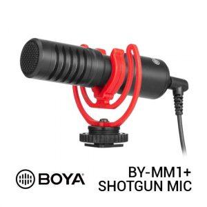 Jual Boya BY-MM1+ Super-cardioid Condenser Shotgun Microphone Harga Murah dan Spesifikasi