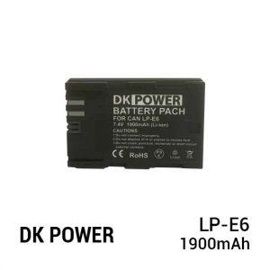 Jual DK Power BATTERY LP-E6 1900mAh Harga Murah dan Spesifikasi