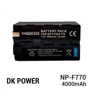 Jual DK Power BATTERY NP-F770 4000mAh Harga Murah dan Spesifikasi