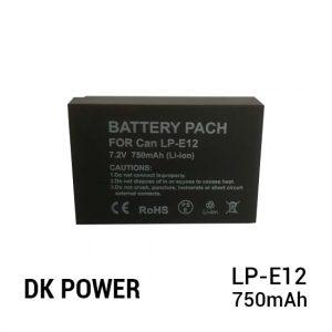 Jual DK Power Battery LP-E12 750mAh Harga Murah dan Spesifikasi