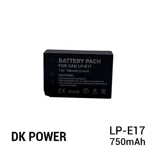 Jual DK Power Battery LP-E17 750mAh Harga Murah dan Spesifikasi