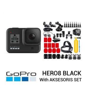 Jual GoPro HERO8 Black Paket Aksesoris Set Harga Murah dan Spesifikasi