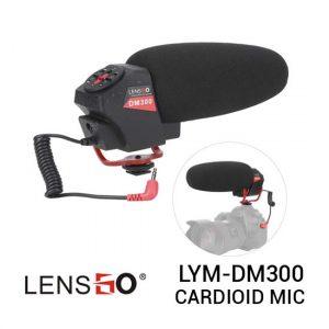 Jual Lensgo LYM-DM300 Professional Cardioid Microphone Harga Murah dan Spesifikasi