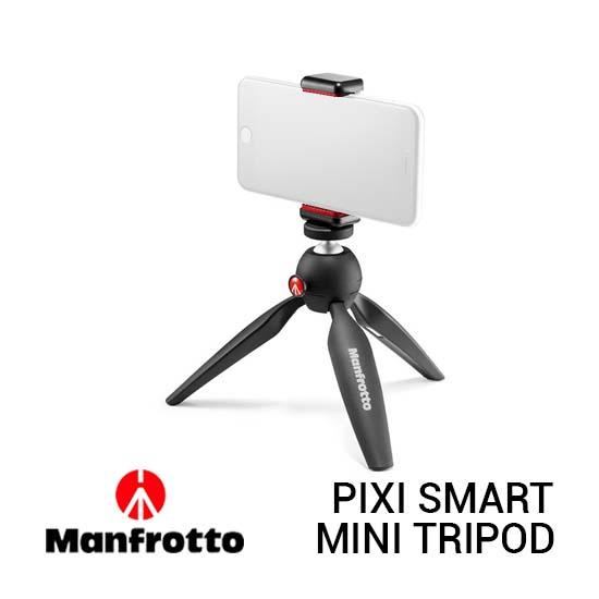 Jual Manfrotto Pixi Smart Black Harga Murah dan Spesifikasi