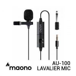 Jual Maono AU-100 Lavalier Microphone Harga Murah dan Spesifikasi