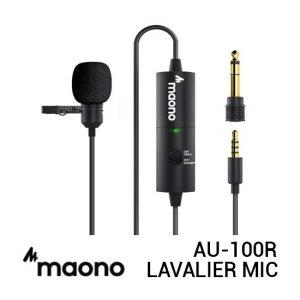 Jual Maono AU-100R Lavalier Microphone Harga Murah dan Spesifikasi