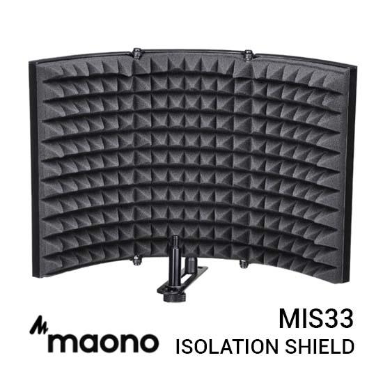 Jual Maono MIS33 Microphone Isolation Shield Harga Murah dan Spesifikasi