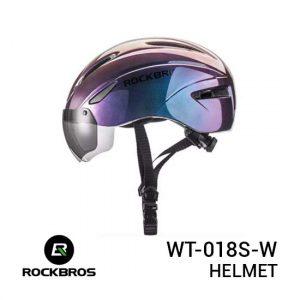Jual Rockbros WT-018S-W Helmet Purple Harga Murah dan Spesifikasi