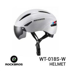 Jual Rockbros WT-018S-W Helmet White Harga Murah dan Spesifikasi