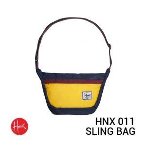 Jual HONX Sling Bag HNX 011 Yellow Navy Harga Murah dan Spesifikasi