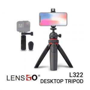 Jual Lensgo L322 Multifunction Desktop Tripod Harga Murah dan Spesifikasi