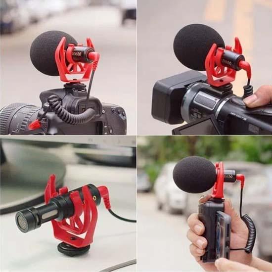Jual Lensgo LYM-DMM1 Phone Camera Microphone Harga Murah dan Spesifikasi