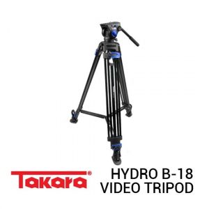 Jual Takara Hydro B-18 Video Tripod Harga Murah dan Spesifikasi