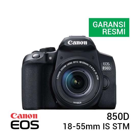 Jual Canon EOS 850D Kit 18-55mm IS STM Harga Murah dan Spesifikasi