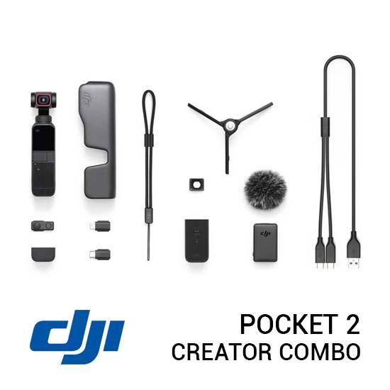Jual DJI Pocket 2 Creator Combo Harga Murah Terbaik dan Spesifikasi