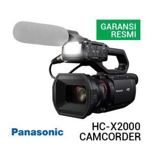 Jual Panasonic HC-X2000 UHD 4K Camcorder Harga Terbaik dan Spesifikasi