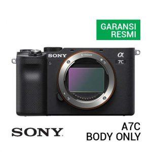 Jual Sony A7C Black Body Only Harga Murah Terbaik dan Spesifikasi